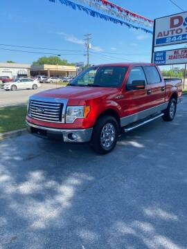 2012 Ford F-150 for sale at D & D Auto Sales in Valdosta GA