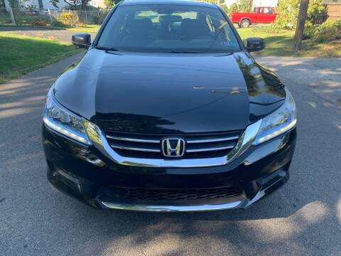 2014 Honda Accord Hybrid for sale at Via Roma Auto Sales in Columbus OH