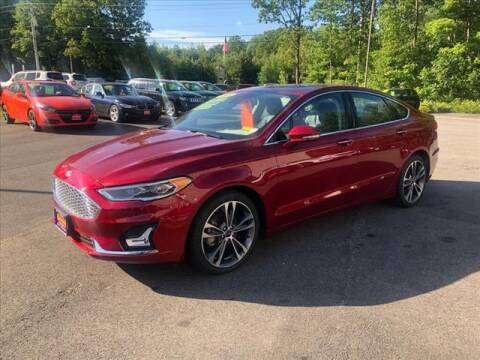 2019 Ford Fusion for sale at North Berwick Auto Center in Berwick ME