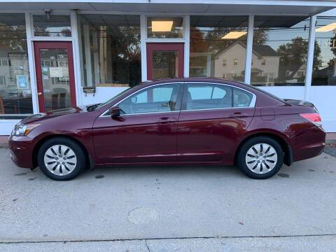 2011 Honda Accord for sale at O'Connell Motors in Framingham MA
