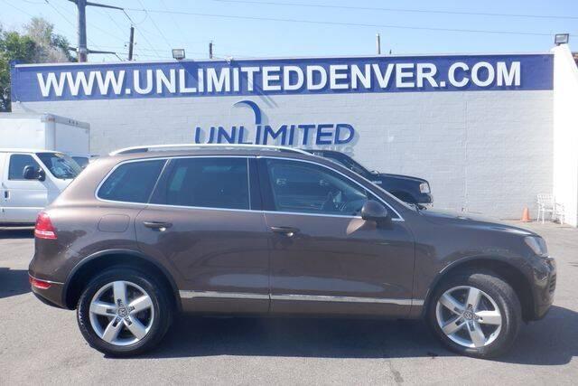 2011 Volkswagen Touareg for sale in Denver, CO
