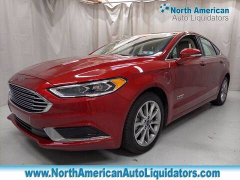 2018 Ford Fusion Energi for sale at North American Auto Liquidators in Essington PA