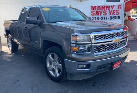 2015 Chevrolet Silverado 1500 for sale at Manny G Motors in San Antonio TX