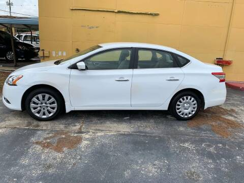 2015 Nissan Sentra for sale at BSS AUTO SALES INC in Eustis FL