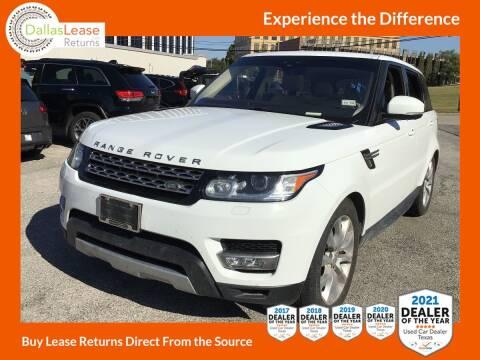 2017 Land Rover Range Rover Sport for sale at Dallas Auto Finance in Dallas TX
