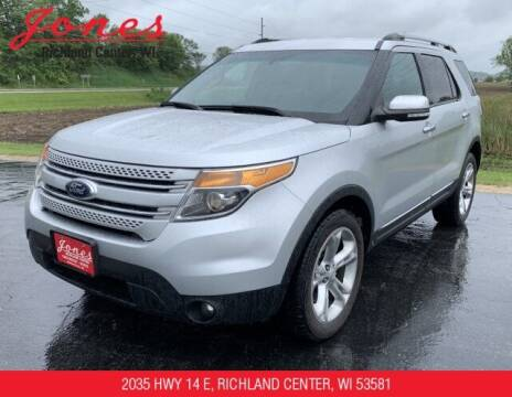 2014 Ford Explorer for sale at Jones Chevrolet Buick Cadillac in Richland Center WI
