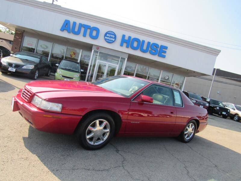 2001 Cadillac Eldorado for sale at Auto House Motors in Downers Grove IL