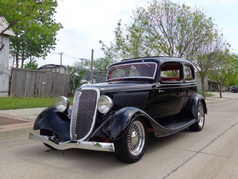1934 Ford Victoria for sale at Enthusiast Motorcars of Texas in Rowlett TX