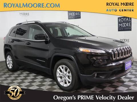2018 Jeep Cherokee for sale at Royal Moore Custom Finance in Hillsboro OR