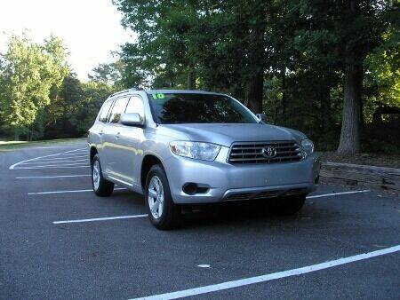 2010 Toyota Highlander for sale at RICH AUTOMOTIVE Inc in High Point NC
