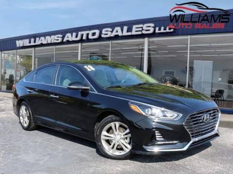 2018 Hyundai Sonata for sale at Williams Auto Sales, LLC in Cookeville TN