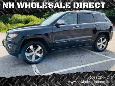 2015 Jeep Grand Cherokee for sale at NH WHOLESALE DIRECT in Derry NH