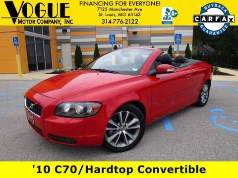 2010 Volvo C70 for sale at Vogue Motor Company Inc in Saint Louis MO