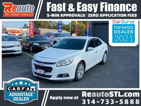 2015 Chevrolet Malibu for sale at Reauto in Saint Louis MO