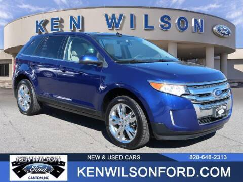 2013 Ford Edge for sale at Ken Wilson Ford in Canton NC