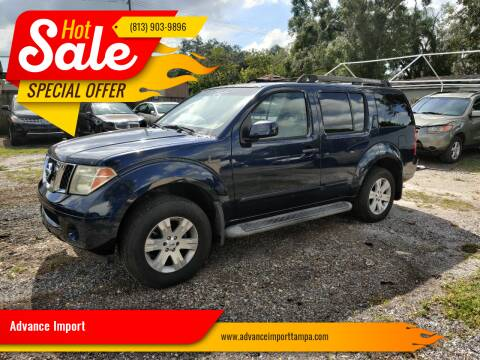 2006 Nissan Pathfinder for sale at Advance Import in Tampa FL