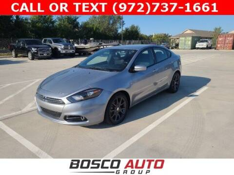 2015 Dodge Dart for sale at Bosco Auto Group in Flower Mound TX
