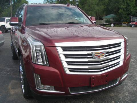 2017 Cadillac Escalade for sale at Autoworks in Mishawaka IN