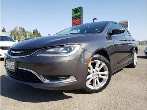 2015 Chrysler 200 for sale at MADERA CAR CONNECTION in Madera CA