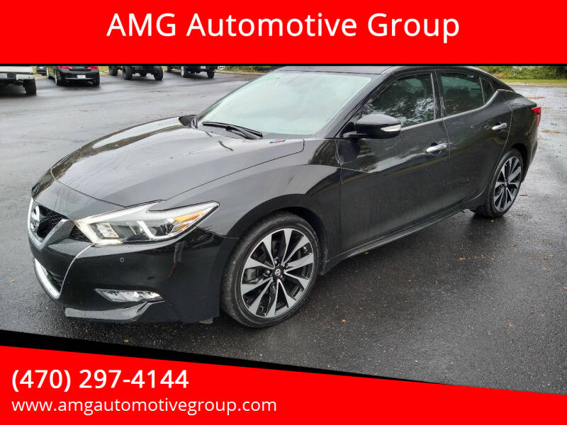 2018 Nissan Maxima for sale at AMG Automotive Group in Cumming GA