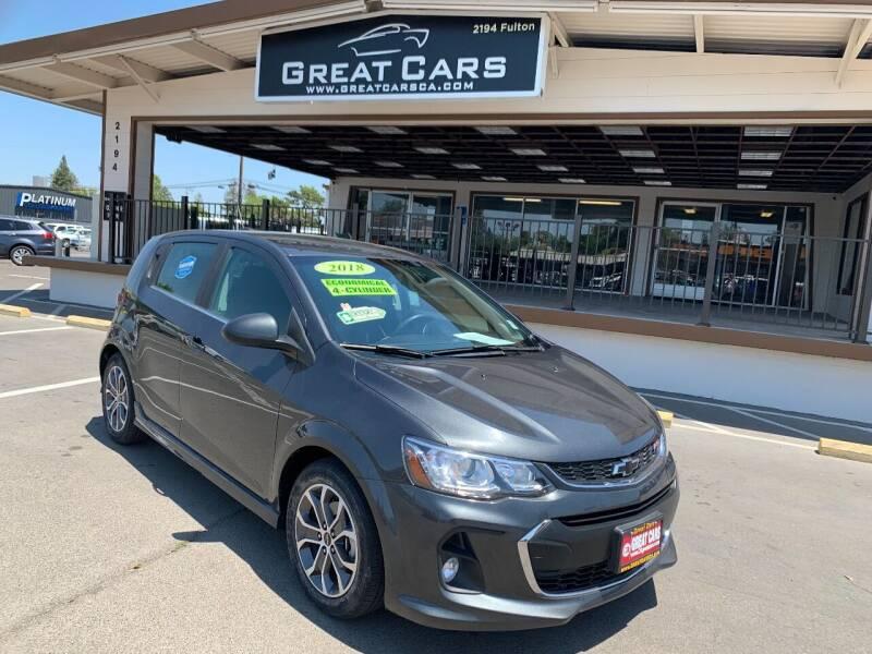2018 Chevrolet Sonic for sale in Sacramento, CA