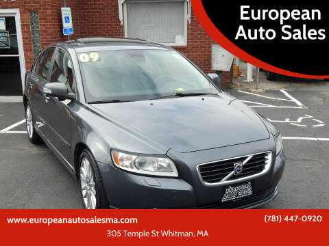 2009 Volvo S40 for sale at European Auto Sales in Whitman MA