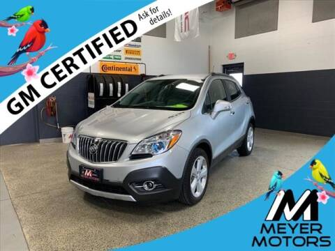 2016 Buick Encore for sale at Meyer Motors in Plymouth WI