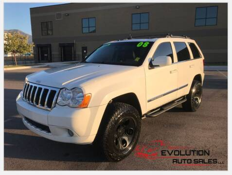 2008 Jeep Grand Cherokee for sale at Evolution Auto Sales LLC in Springville UT