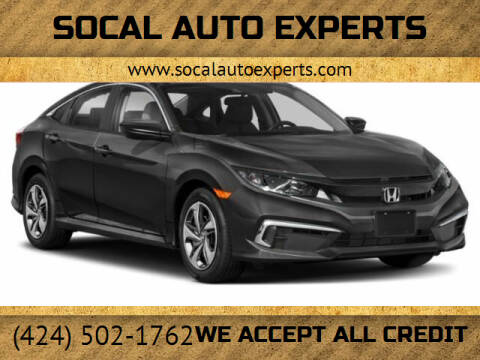 2021 Honda Civic for sale at SoCal Auto Experts in Culver City CA