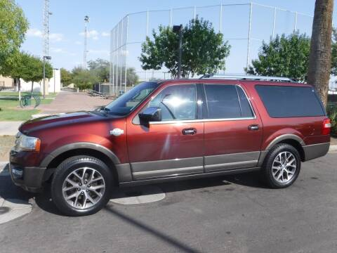 2015 Ford Expedition EL for sale at J & E Auto Sales in Phoenix AZ