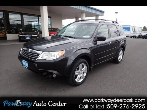 2009 Subaru Forester for sale at PARKWAY AUTO CENTER AND RV in Deer Park WA