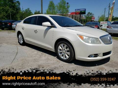 2012 Buick LaCrosse for sale at Right Price Auto Sales in Waldo FL