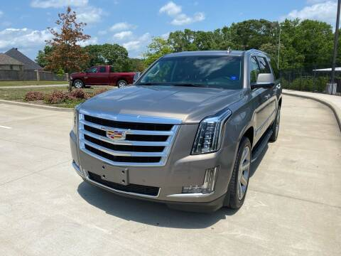2017 Cadillac Escalade ESV for sale at Preferred Auto Sales in Tyler TX