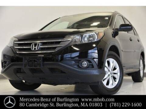 2012 Honda CR-V for sale at Mercedes Benz of Burlington in Burlington MA