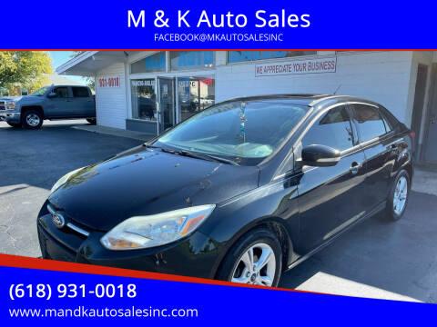 2013 Ford Focus for sale at M & K Auto Sales in Granite City IL
