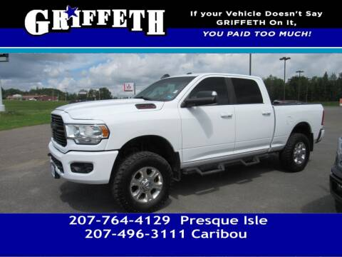 2020 RAM Ram Pickup 2500 for sale at Griffeth Mitsubishi - Pre-owned in Caribou ME