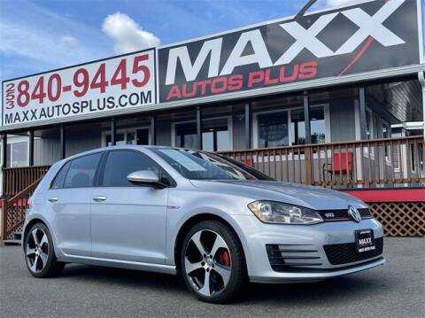 2016 Volkswagen Golf GTI for sale at Maxx Autos Plus in Puyallup WA