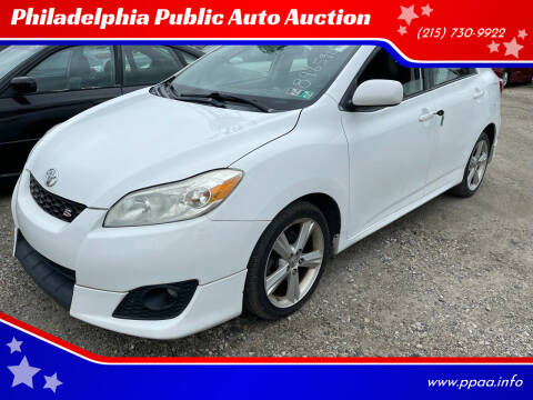 2009 Toyota Matrix for sale at Philadelphia Public Auto Auction in Philadelphia PA
