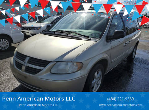 2006 Dodge Grand Caravan for sale at Penn American Motors LLC in Allentown PA