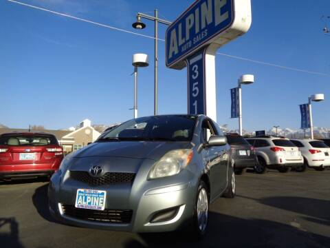 2011 Toyota Yaris for sale at Alpine Auto Sales in Salt Lake City UT