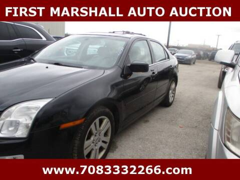 2008 Ford Fusion for sale at First Marshall Auto Auction in Harvey IL