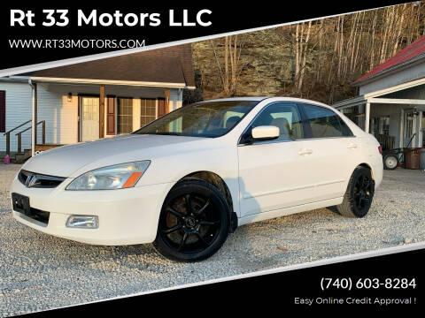 2005 Honda Accord for sale at Rt 33 Motors LLC in Rockbridge OH