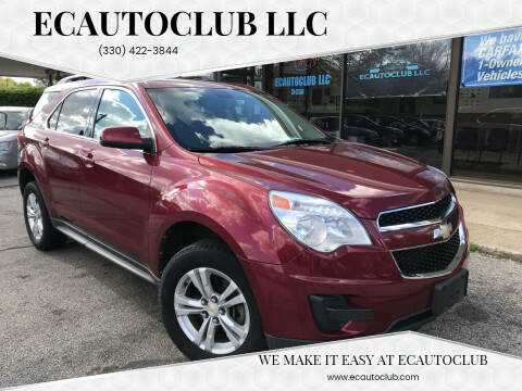 2010 Chevrolet Equinox for sale at ECAUTOCLUB LLC in Kent OH