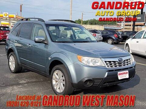 2012 Subaru Forester for sale at GANDRUD CHEVROLET in Green Bay WI