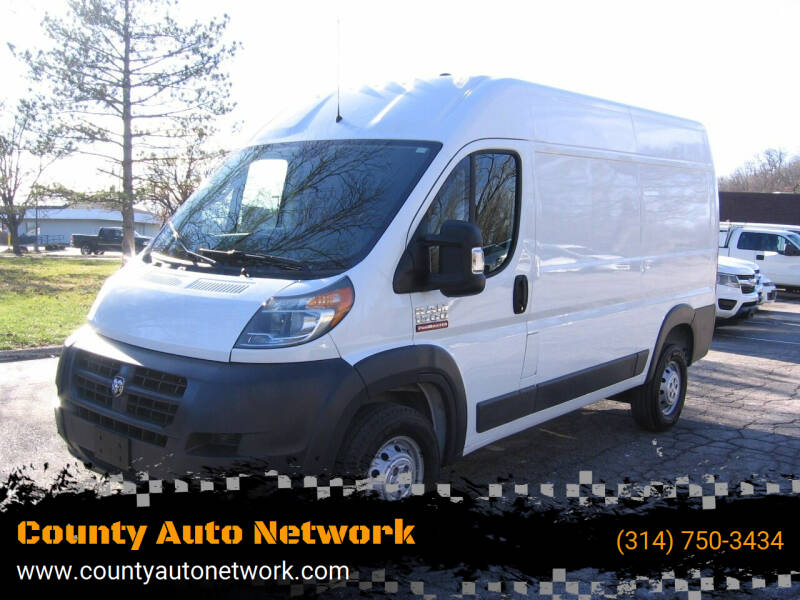 2018 RAM ProMaster Cargo for sale at County Auto Network in Ballwin MO