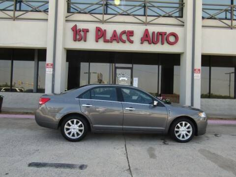 2010 Lincoln MKZ for sale at First Place Auto Ctr Inc in Watauga TX