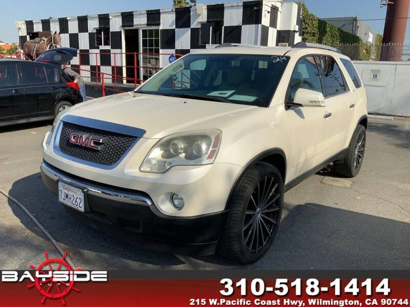 2011 GMC Acadia for sale at BaySide Auto in Wilmington CA