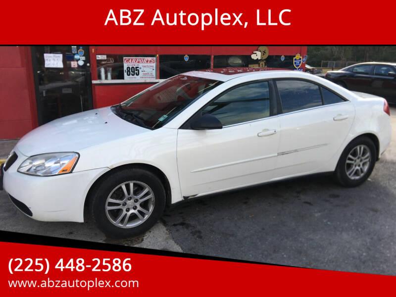 2005 Pontiac G6 for sale at ABZ Autoplex, LLC in Baton Rouge LA