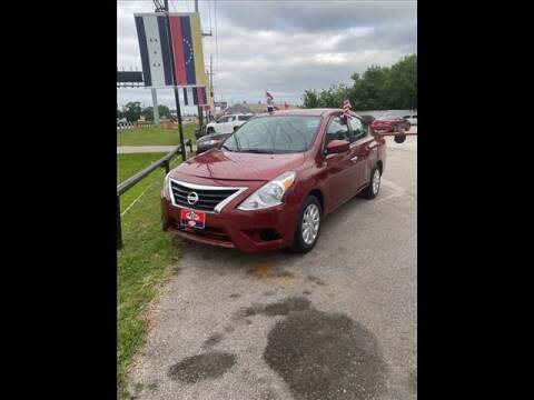 2016 Nissan Versa for sale at FREDY USED CAR SALES in Houston TX