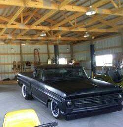 1957 Ford Fairlane for sale at Classic Car Deals in Cadillac MI